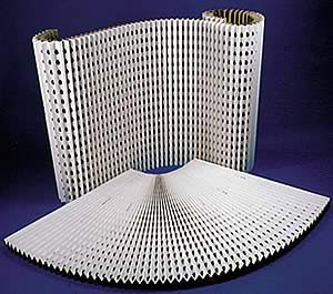 Concertina Cardboard Spray Booth Extraction Filters - Quality Air Extraction